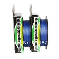 Wholesale - 100m 6LB10LB15LB20LB30LB40LB50LB65LB80LB100LB blue colore dyneema braided fishing  line  free shipping
