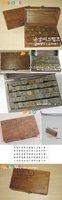 Печать c31-55 /wood print uppercase stamp gift set/70pcs per set/wood Box/multi-purpose Decorative DIY funny work