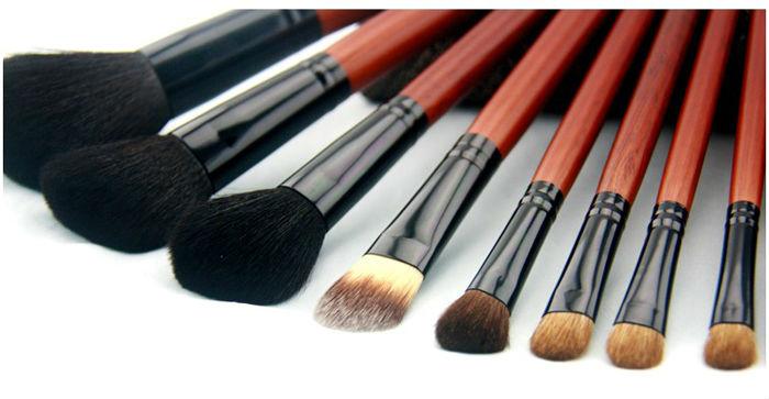Kolinsky Makeup Brushes Kolinsky Hair 21pcs Makeup