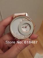Новый роскошный бренд модниц платье часы с d логотип & стразами часы