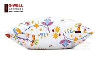 Подушка Flower Decorative Pattern Throw Pillow Cases Cushion Covers Canvas Sofa Flower White Color # ZT01003 Size S