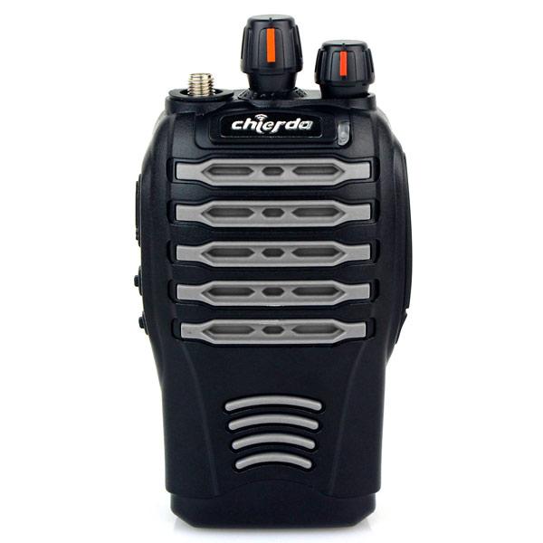 Chống thấm nước IP66 đàm CHIERDA CD-528 UHF 400 470 MHz 5 wát dừng Noise màn hình động Urgent đàm