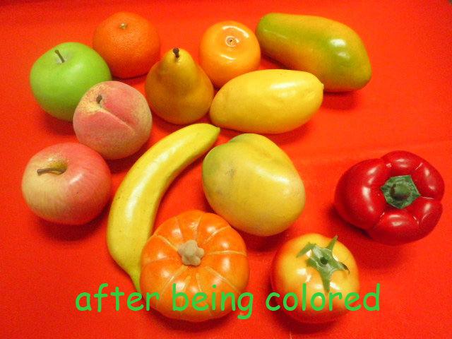2013 promotional lifelike foam decorative artificial cheap plastic fruit