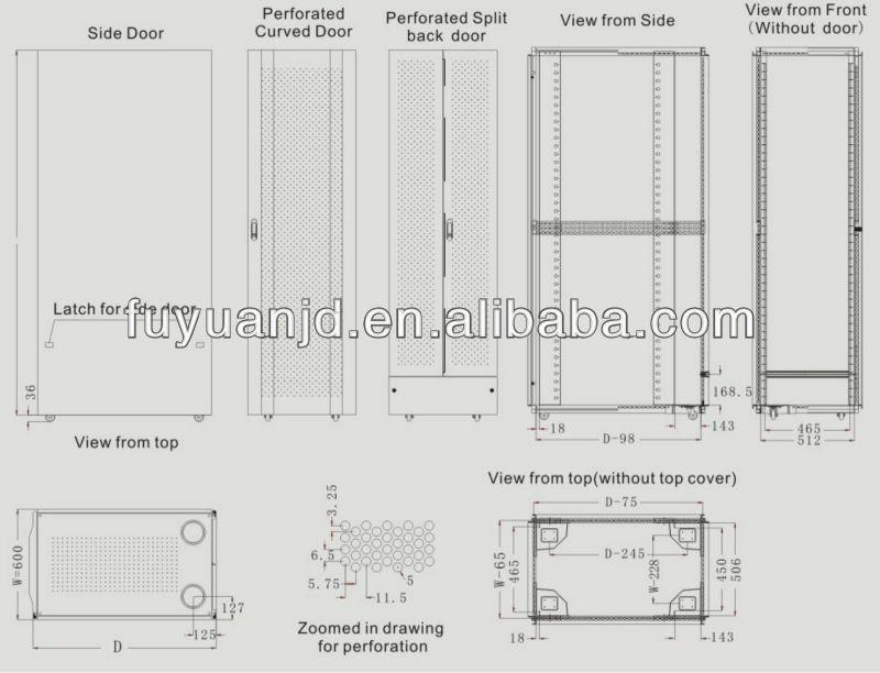 FY-SEH Series Aluminum Extrusion Enclosure