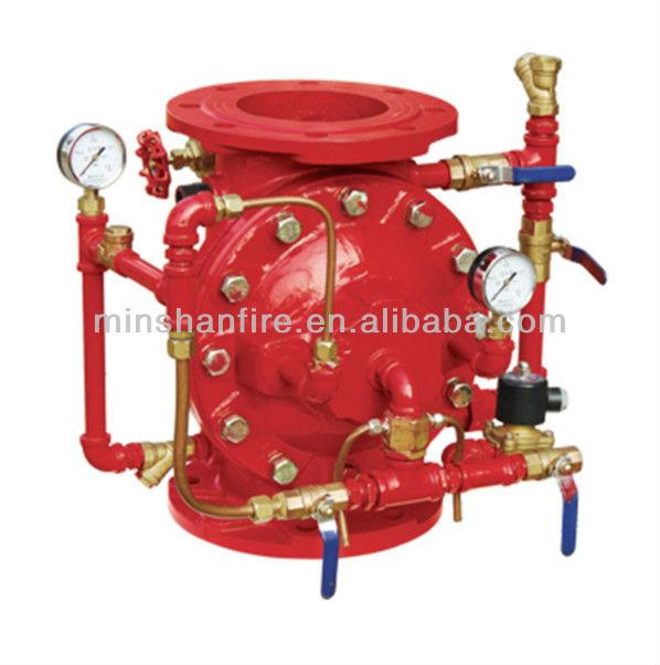 Пожаротушения мембранный воды пожарной сигнализации клапан