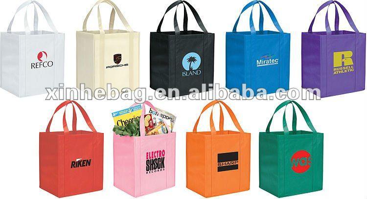 shopping non woven tote bag
