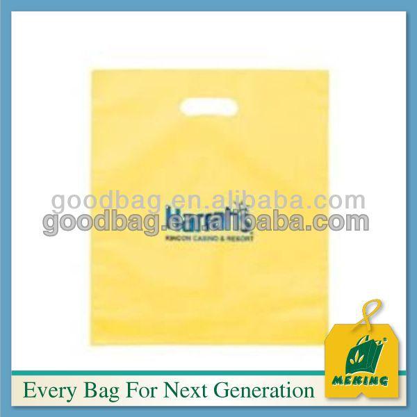 bolsa de plastico de embalaje promocional para la ropa, MJ-PB0385-Y, China Supplier