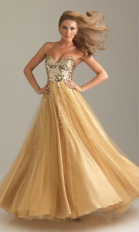 Renkli Payetli Elbise Elbise Payetli Uzun Tül