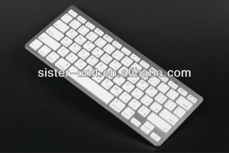 BK3002 Bluetooth version 3.0 Multi-language wireless bluetooth keyboard