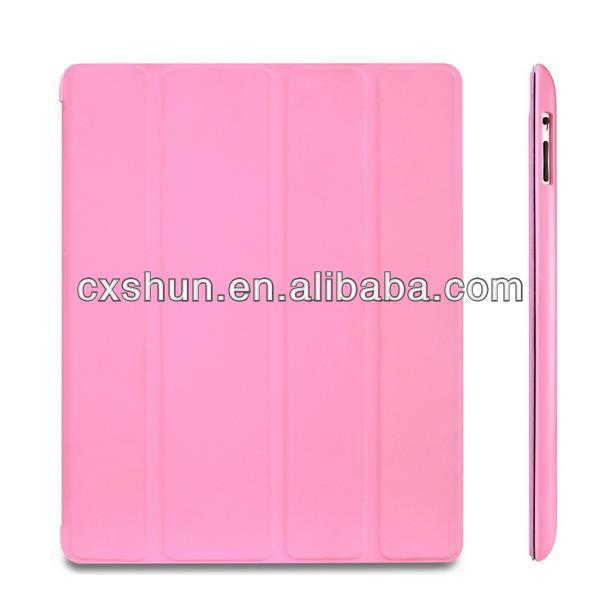Slim-Fit Folio Smart Case Cover with Back Case for Apple Air the New iPad 4 & 3/ iPad 2