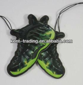 promotional football shoes air freshener custom car air freshener