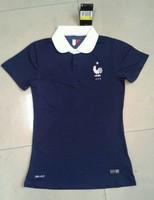 Женская футболка для футбола France women home blue soccer jerseys france female football jerseys new football shirt