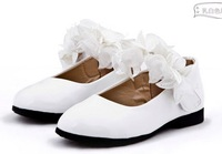 The new leather shoes princess shoes for girls dress shoes