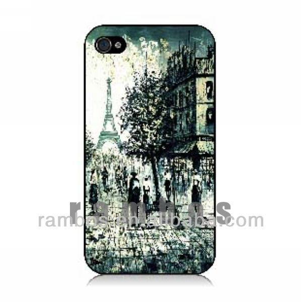 Customized Phone Case Plastic Case for iPhone 4 4S 5 5C 5S