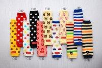 новые красочные полосы Детские ребенка малыш ноги теплые носки для крышка lw001