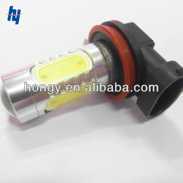 Super Bright 12V Fog Light Bulbs H11 7.5W For Car