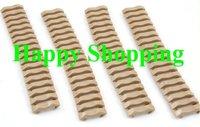 Аксессуары для охотничьего ружья 7 inch picatinny ladder rail rubber covers Tan