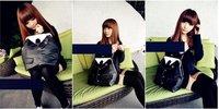 продать! сумки дамские, с ПУ кожаный, черный, 1 шт, гарантия качества, sx9-49