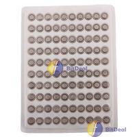 bitdeal 100 x AG4 SR626 377 LR626 LR66 SR66 Button Cell Battery Worldwide free shipping