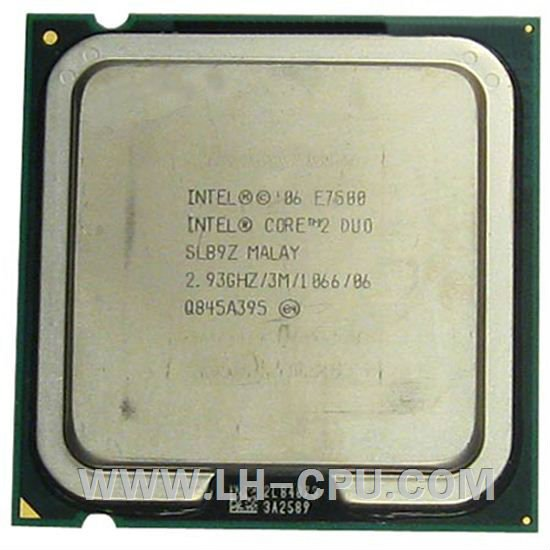Intel Core 2 Duo E7500/3M/2.93/1066/SLB9Z/SLGTE