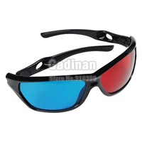 3D-очки 1pcs, Red Blue Anaglyphic 3D Glasses with Plastic Framed, 3D moive TV video glasses 3D anaglyphic Movie DVD Game glasses