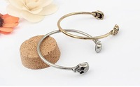 Hot! Korean Fashion Simple Personality Skull Bracelet Cuff Bracelet B29