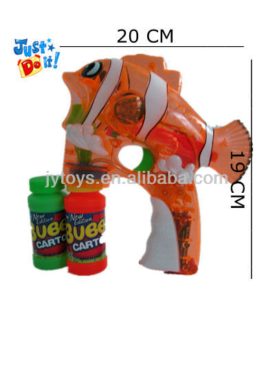 NEMO fish bubble bubble guns with LED light and music JY989-A