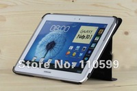 S Pen + screen protector + OTG Cable + car charger + Book cover Case for Samsung Galaxy Note 10.1 N8000