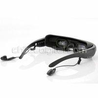 Беспроводные видео очки, мобильный театр с 72-дюймовый 16:9 широкий экран, bulit в 4 ГБ памяти, поддерживает av функции ввода