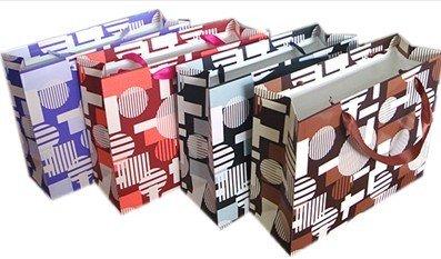 luxury paper printed shopping bag
