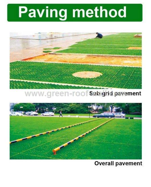 plastic grass geogrid