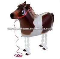 So cute 2012 new designs mylar Walking Pet balloon