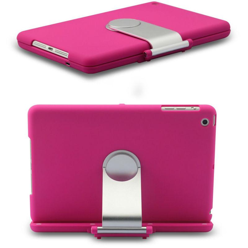 Rubber Bluetooth Keyboard Case For iPad mini Bluetooth Keyboard For New iPad Bluetooth Keyboard Cover Folio Case