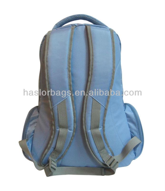 Couleur de la lumière Polyester tissu sac d'école d'été