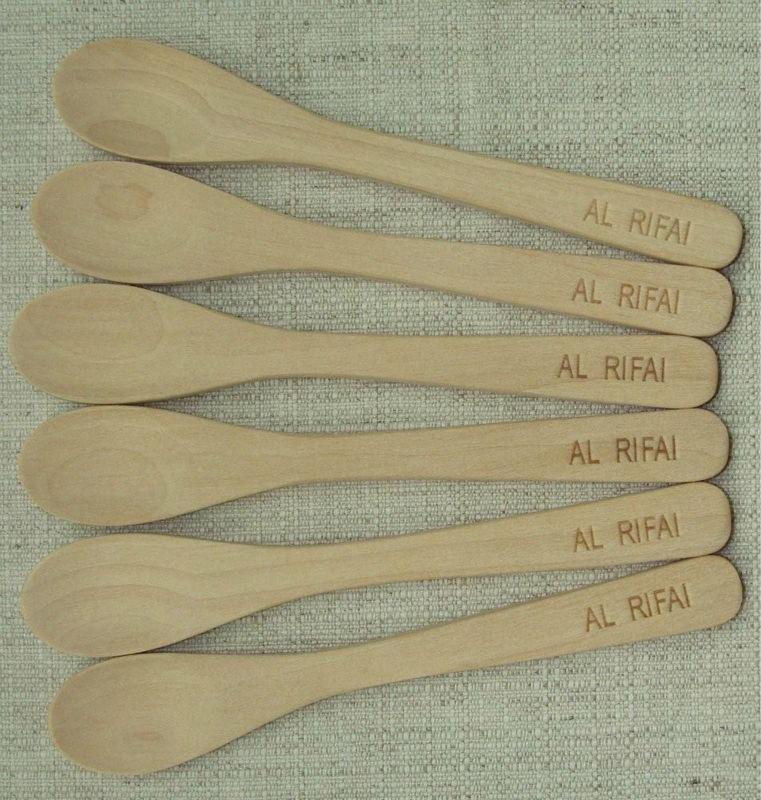 Durable Pet Food Wooden Scoop