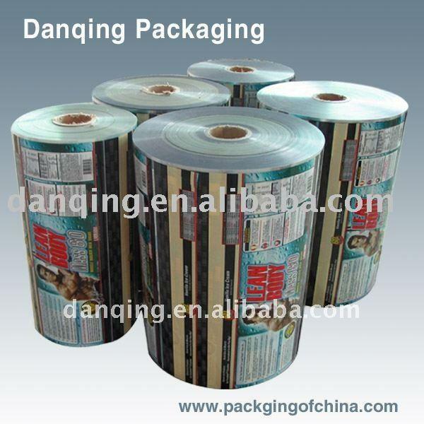Plastic food packaging film