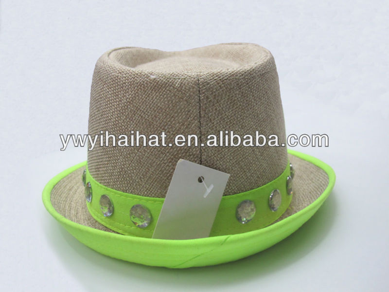 Wholesale Felt Rivet Fedora Hat