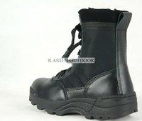 Мужские ботинки 1PAIR Men Outdoor Leisure Leather Boots Shoes Color:Black KhakiEUR Size 39 40 41 42 43 44 45