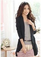 Женский кардиган women ladies long sleeve double pockets slim cardigan