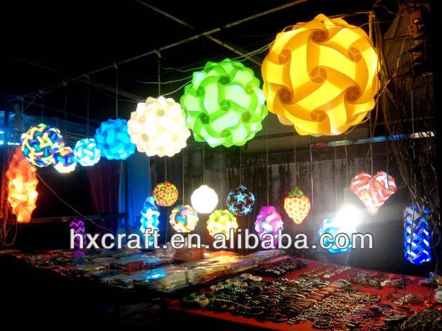 Modern Ceiling Pendant Contemporary Iq Lights Jigsaw Puzzle Ze Lamp Light Shade M L Xl Hx Pl04