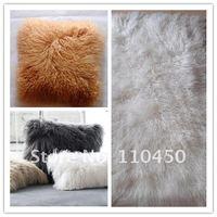 Free Shipping Mongolian Lamb Cushion/Pillow(Factory Shop)
