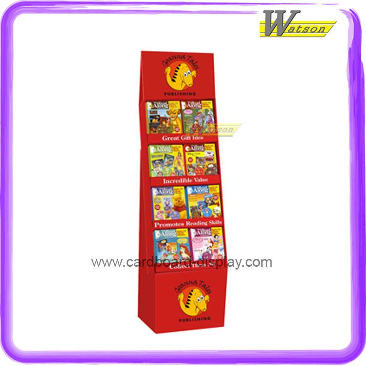 Cardboard Paper Dog Food Display Rack