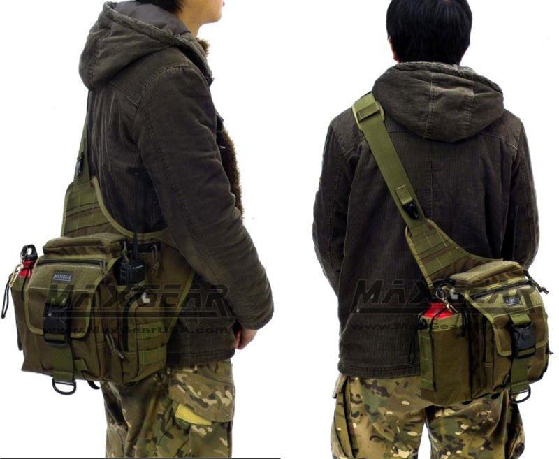 Men Shoulder Bag (Men Messenger Bag) For Army, Police and Travel Use
