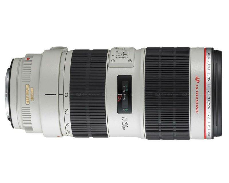 Lens 200mm Canon Canon ef 70-200mm F2.8 Lisu ii