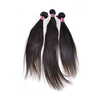 "New light Virgin Peruvian straight &100% remy human Hair weft 3pcs/lot DHL 14""-24""natural color quality good price"