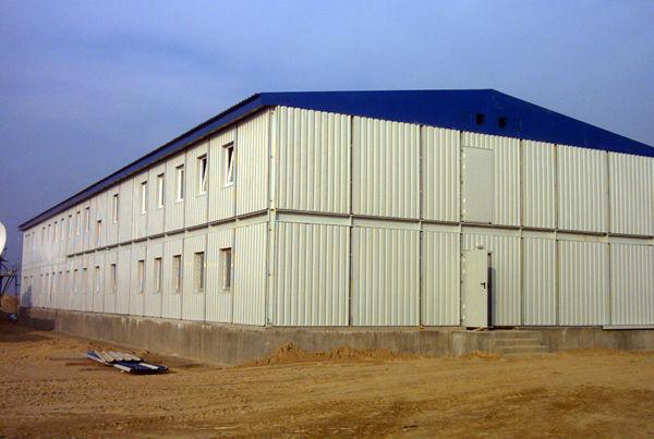 Modern Design Factory Construction Steel Building View