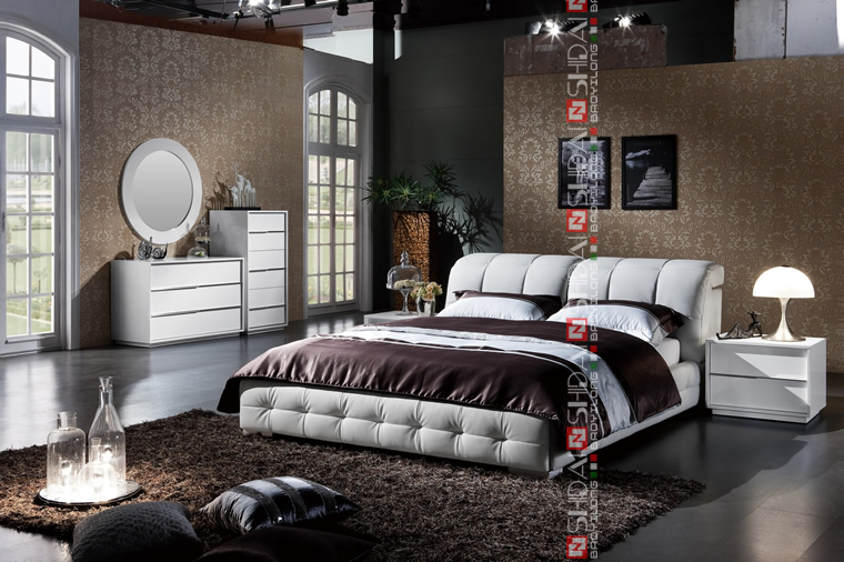 현대적인 침대 디자인 가구 미국/ 최신 조절 침대/ 킹 사이즈 ...