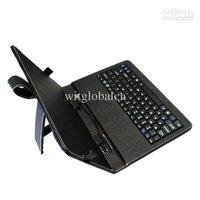 """кожаный чехол + usb-клавиатура + стилус для 10.1"""" fujitsu m532 стилистические tablet pc"""