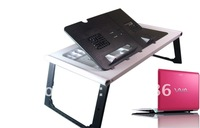 New style laptop table ,folding laptop table,portable laptop desk+FREE SHIPPING