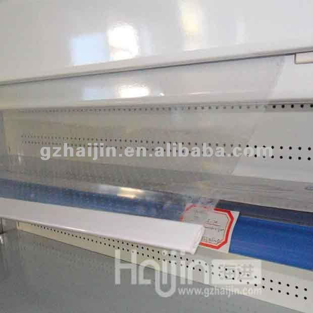 Supermarket commercial refrigerator - vegetable display fridge/Grocery fruit refrigerated showcase/shop display fridge cabinet